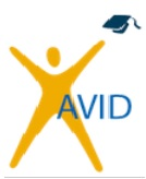 AVID - How Can I support my Student?