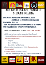 Magnet Parent Meeting