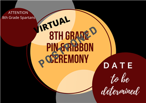 Pin and Ribbon Postponed